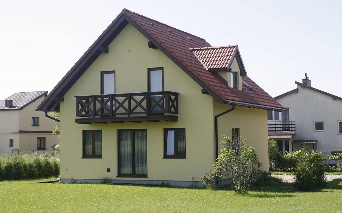 Проект дома из газобетона  G2-3