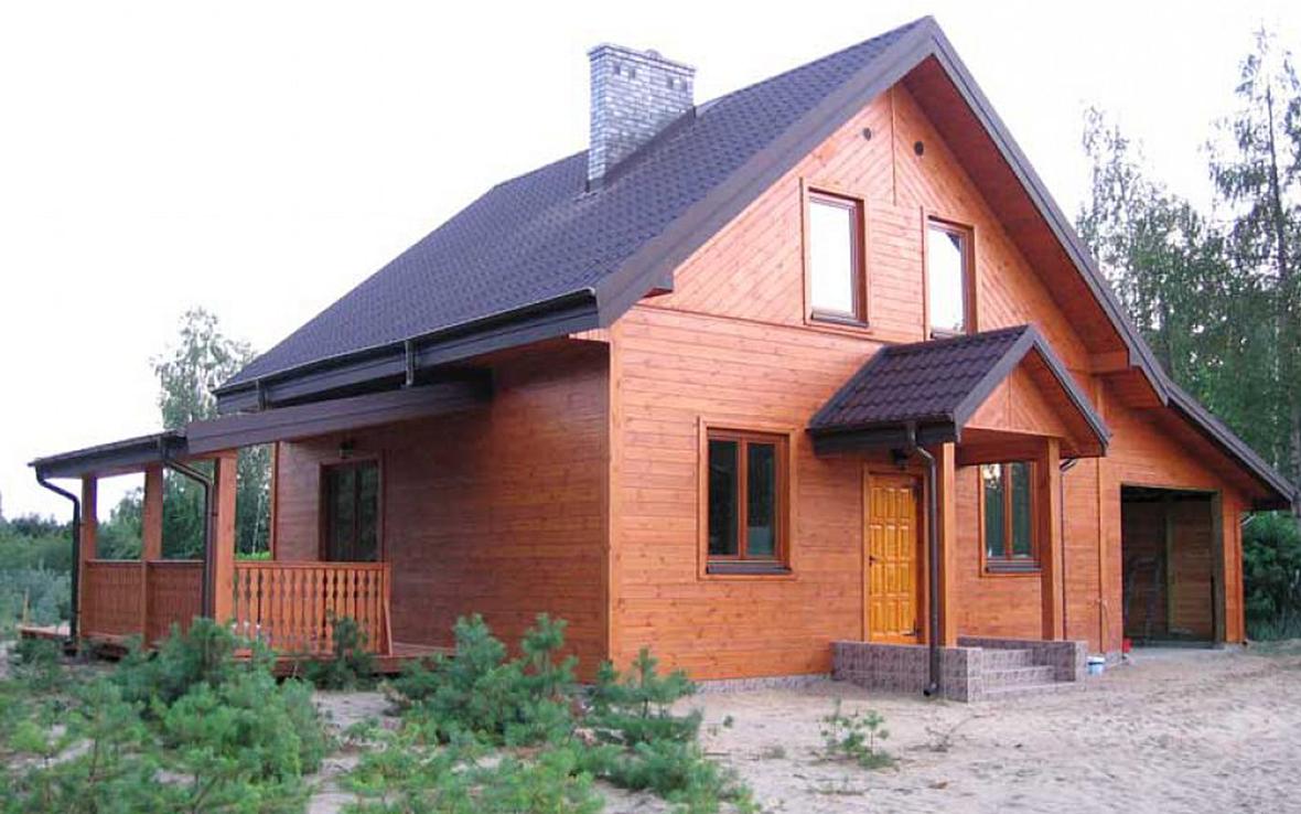 Проект дома из газобетона  G2-5