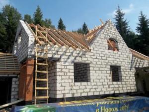 Строительство дома из газобетона в Великом Новгороде