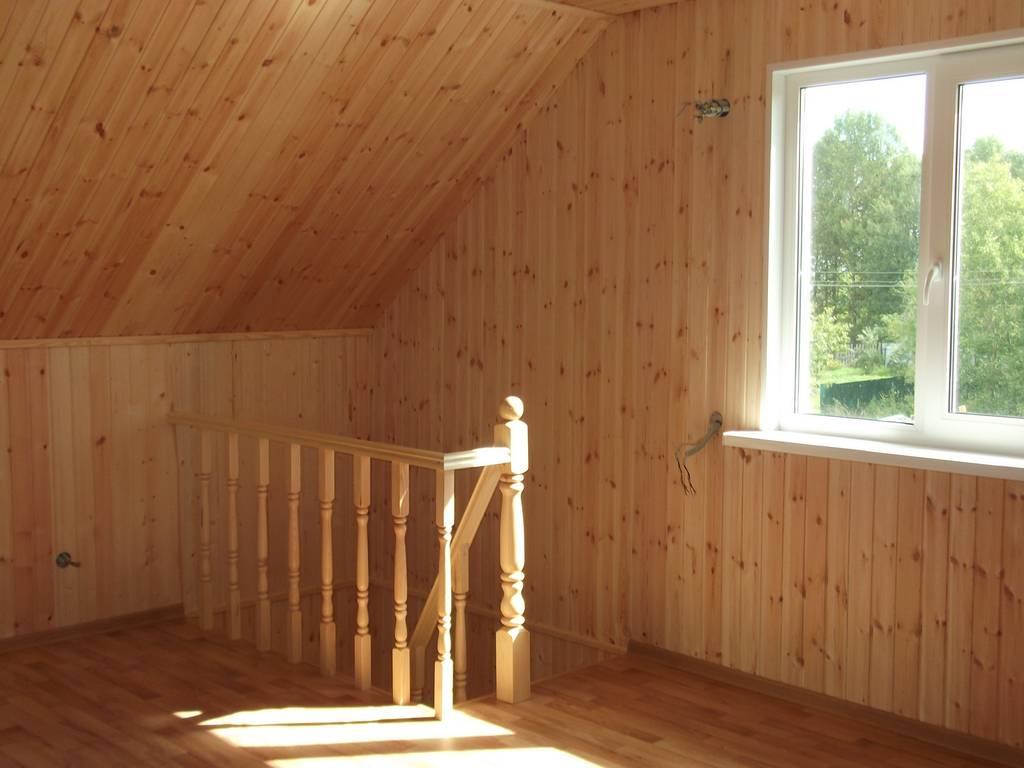 Обшивка потолка гипсокартоном своими руками в деревянном доме 76